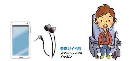 音声ガイド対応マークのある上映作品